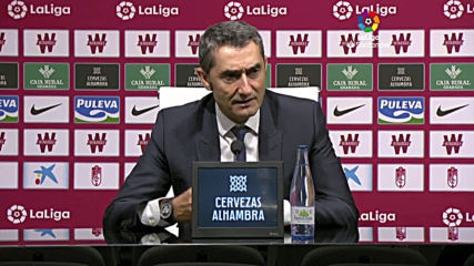 Spain: Barca deserved to lose against shock league leaders Granada - Valverde