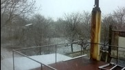 Ляк сняг през април