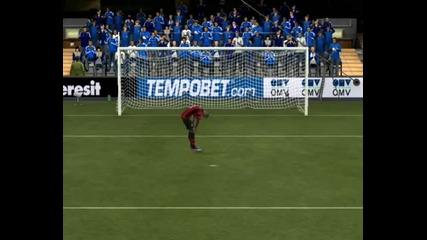 Fifa 12 дузпи - Chelsea vs Man City