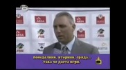 Христо Стоичков говори Angliski :d