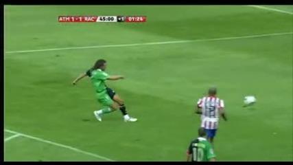 Atletico Madrid - Racing Santander 1:1