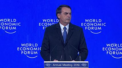 Switzerland: 'Left wing will not prevail' in South America - Bolsonaro in Davos WEF