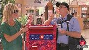 Най - големият тарикат сред пощальоните - скрита камера