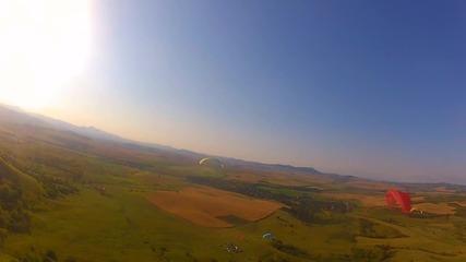 Летене с парапланер покрай Витановци