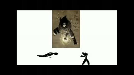 Chidori Vs Big Shuriken