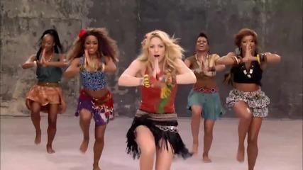 Shakira - Waka Waka [високо качество + превод и субтитри]