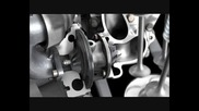 Mercedes E - Class Coupe New 4 - cylinder Diesel engine Animation