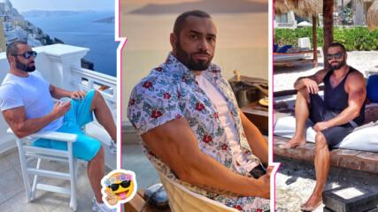 И силните се нуждаят от романтика! Гръцко лято без край за Лазар Ангелов