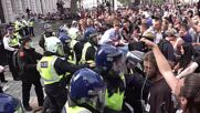 UK: Scuffles and detentions at London COVID sceptic measure rally