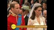 Кралската сватба принц Уилям и Кетрин Мидълтън-церемонията/с коментар на български/