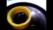 химични опити - - - - действие на k. H2so4