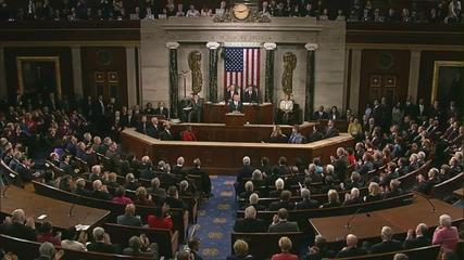 Последната годишна реч на Обама пред Конгреса