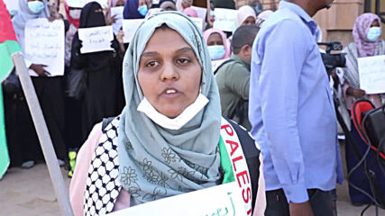 Sudan: Protesters denounce normalisation agreement with Israel at Khartoum rally