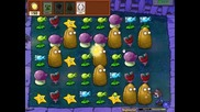 #1 Gameplay • Plants vs Zombies. Mini Games - Beghouled. •