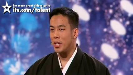 Hayashi - Britain's Got Talent 2010