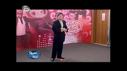 Music Idol 3 - Георги Станков - Ки Сбогом И Буболечка Кючек.