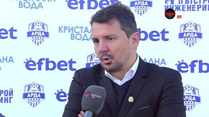Милош Крушчич: Много труден мач, но резултатът бе най-важен
