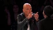 Хари Худини се роди и веднага изуми журито на America's Got Talent със своите трикове
