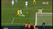Бижутерският гол на Христо Йовов . Лацио - Левски 0-1