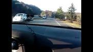 Най - лошата улична надпревара с мотори