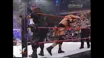 Stone Cold & The Rock Vs Bossman & Booker