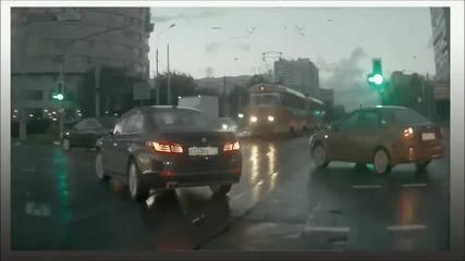 В Русия кола призрак.