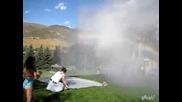Водна Пързалка С Пожарникарско Водно Оръдие