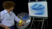 S13 Радостта на живописта с Bob Ross E03 - поляна с ручей в овал ღобучение в рисуване, живописღ