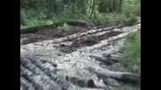 Как се вади дървесина от Сибирската Тундра
