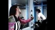 Matt Hardy And Lita Backstage