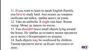 Аз уча английски език . Сезон 4, епизод 140, Читанка