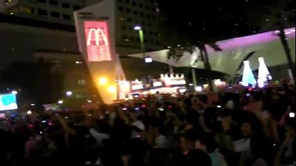 2011 Нова година фойерверки - Bangkok Thailand