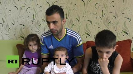 Украйна: Бежанец от Сирия моли украинското правителство да му позволи да напусне Донецк