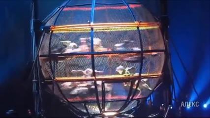 '' Кълбото на смърта '' - цирков номер с много неизвестни