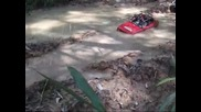 Axial Wraith Scx10 Cc10 Hummer Unimog - Rc Trail Adventures Mud and Water 18 Sep 11