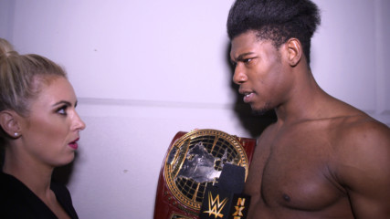 Velveteen Dream celebrates his crowning achievement: WWE.com Exclusive, Feb. 20, 2019