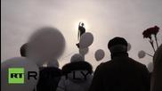 Ukraine: Donetsk mourners honour flight 7K9268 victims