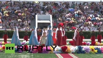 Kazakhstan: Baikonur Cosmodrome's 60th anniversary celebrated in style