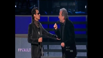 Marc Anthony & Jose Luis Perales - Y como es el (latin Grammy)