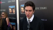 Nat Wolff Chats About 'Paper Towns' At Livestream Event For The Movie
