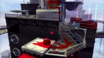 De Blob 2 - Gameplay Painting the Tower