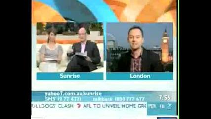 Darren Hayes - Интервю Sunrise Australia