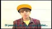 Justin Bieber г*я ви пожелава приятна коледа и нова година !