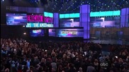 Carly Rae Jepsen печели награда за Old Navy Best New Artist| American Music Awards 2012