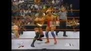 Кърт Енгъл срещу Y2j срещу Трите Хикса Raw 08.07.2000
