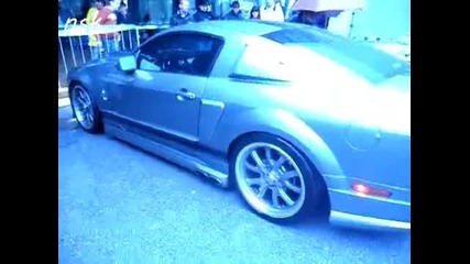 Ford Mustang zvuk