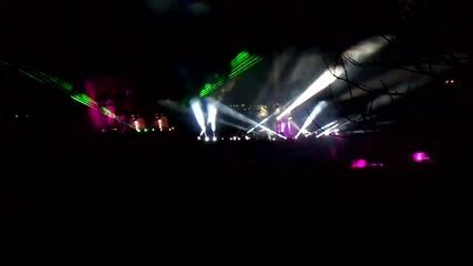 Лазерите от 3d спектакъла на празника на В.търново, 22.03.2012 (hd)