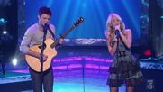 Carrie Underwood and Sons of Sylvia - What Can I Say (live) [превод на български]