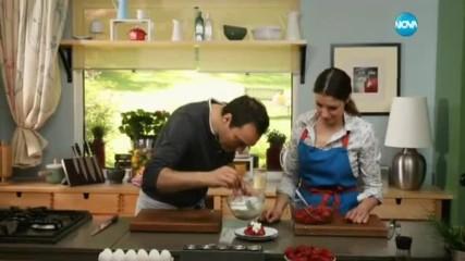 Доматена салата с дресинг от синьо сирене - Бон Апети (26.05.2017)