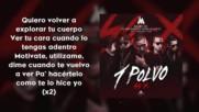 +++18 ! Превод! Maluma Ft. Bad Bunny Arcangel De La Ghetto Nengo Flow - Un Polvo ( Con Letras )